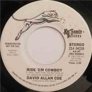 David Allan Coe - Ride 'Em Cowboy download
